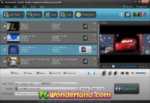 Aiseesoft Total Video Converter 9.2.56 Crack + Registration Code 2021